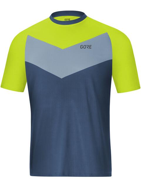 GORE WEAR C5 Trail Bike Jersey Shortsleeve Men green/blue